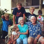 grandkids with gwendy & pop