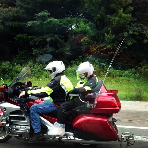 motorcycle nap