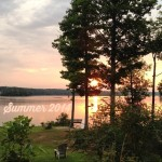 Lake Anna Sunrise Summer 2014