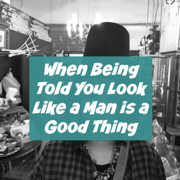 like a man