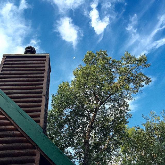 cabin sky